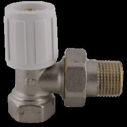 """STENO 407 radiátorový ventil rohový 3/8"""""""